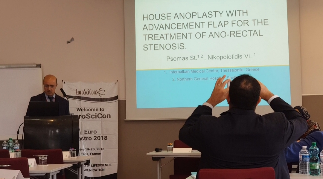 House anoplasty with advancement flap for anorectal stenosis