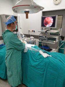 Ενδοσκοπική μέθοδος θεραπείας κύστης κόκκυγα EPSiT